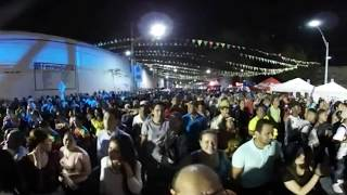 Rumba en  360º en la  calle 50 de Barranquilla - Carnaval de Barranquilla 2018