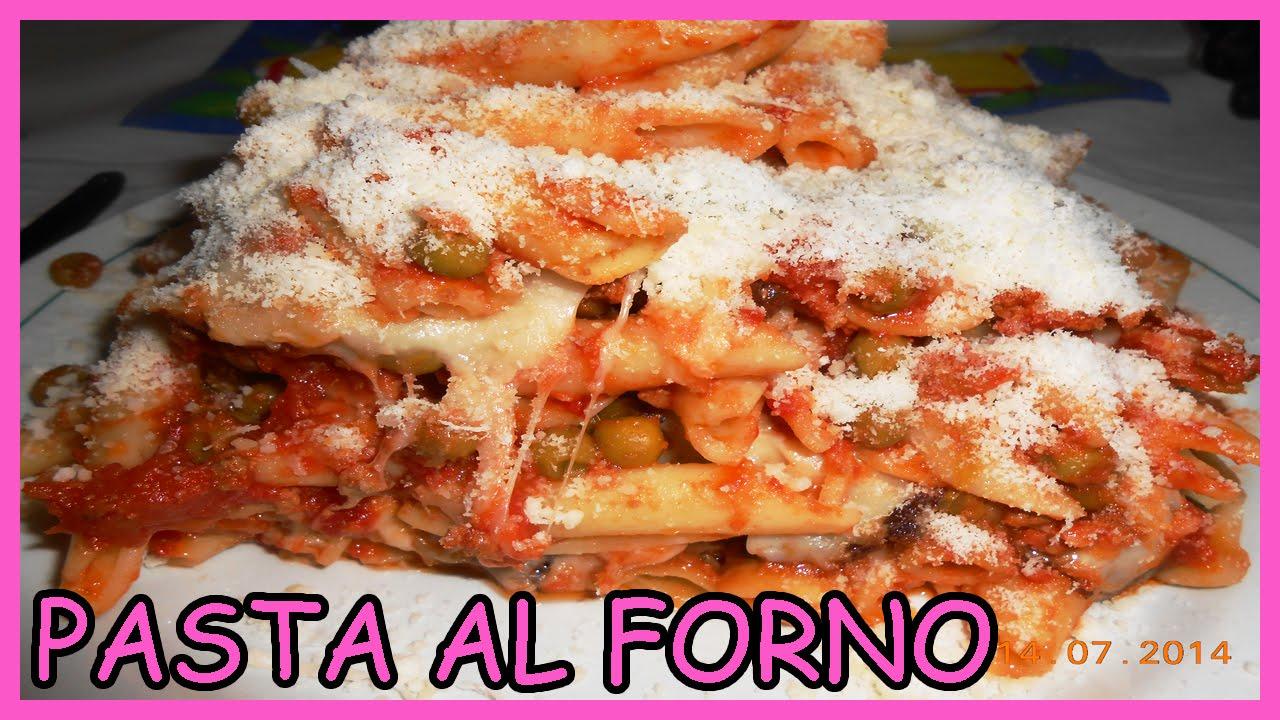 Pasta al forno alla siciliana con formaggio e melanzane for Ricette di pasta