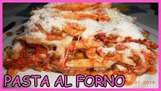Pasta Al Forno Alla Siciliana Con Formaggio E Melanzane - Le Ricette Di Zio Roberto