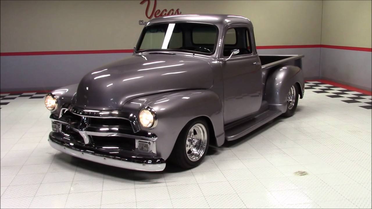 1954 chevrolet 5 window pickup youtube for 1954 chevy 5 window