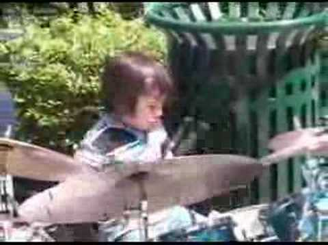 gifted 4 year old drummer JASON CRAIG 1