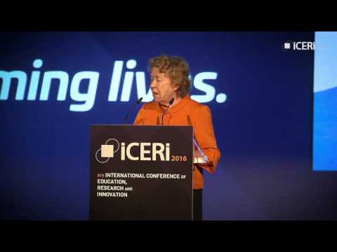 Ann Cotton - The imperative and practice of girls' education in Africa. ICERI2016 Keynote Speech