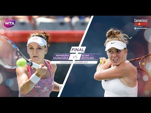2016 Connecticut Open Final Preview | Agnieszka Radwanska vs Elina Svitolina