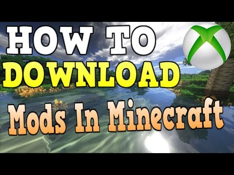 How To Get Mods In Minecraft Xbox One (NEW METHOD)
