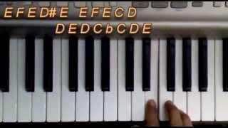 Humko Sirf Tumse Pyar hai Keyboard/Piano Tutorial