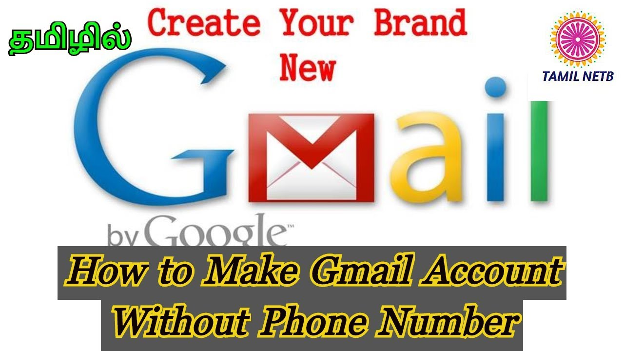 How To Create A Fake Gmail Account Without Phone Number