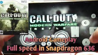 Call of duty modern warfare reflex edition Android gameplay + Tutorial install