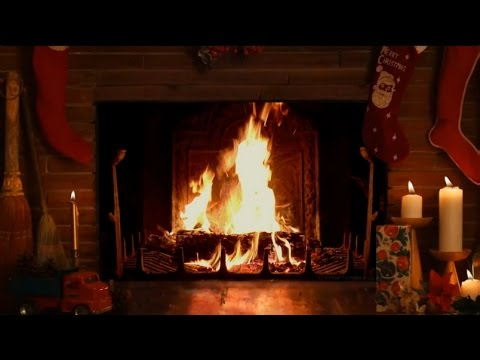 Christmas Fireplace Wallpaper Animated Cozy Christmas Fireplace With Crackling Fire Sounds Hd