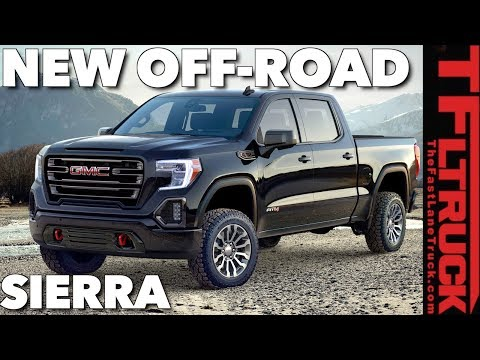 What Makes the 2019 GMC Sierra 1500 AT4 Off-Road Truck Special?