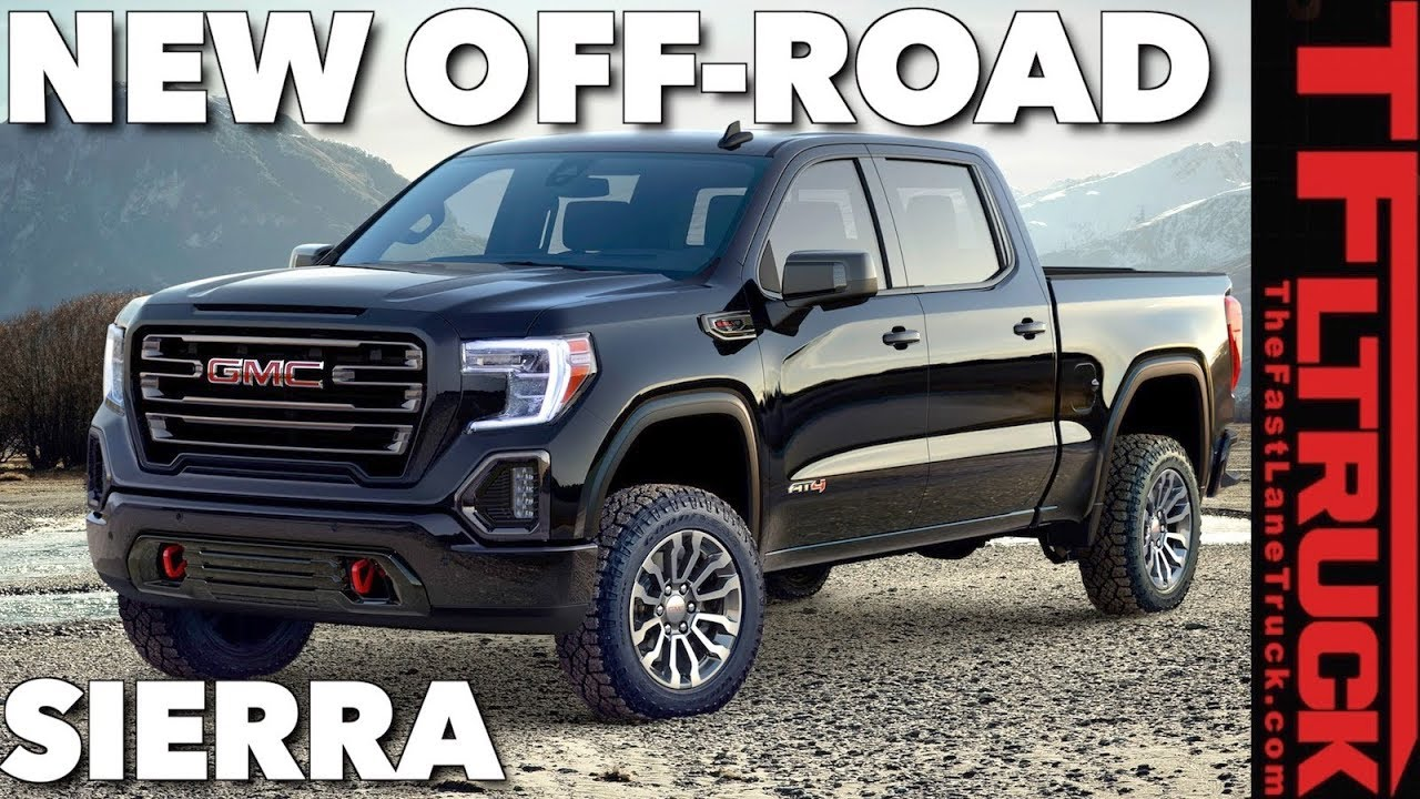 What Makes the 2019 GMC Sierra 1500 AT4 Off-Road Truck ...