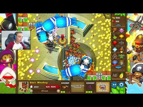 CASH MONEY!  | Bloons TD5 | Norsk Gaming