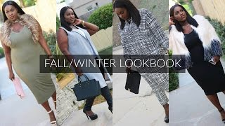 Plus Size Fall/Winter Lookbook 2016