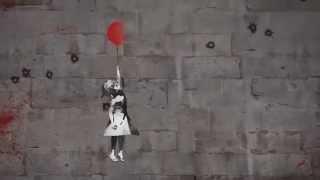 La petite fille au ballon rouge .... de Banksy