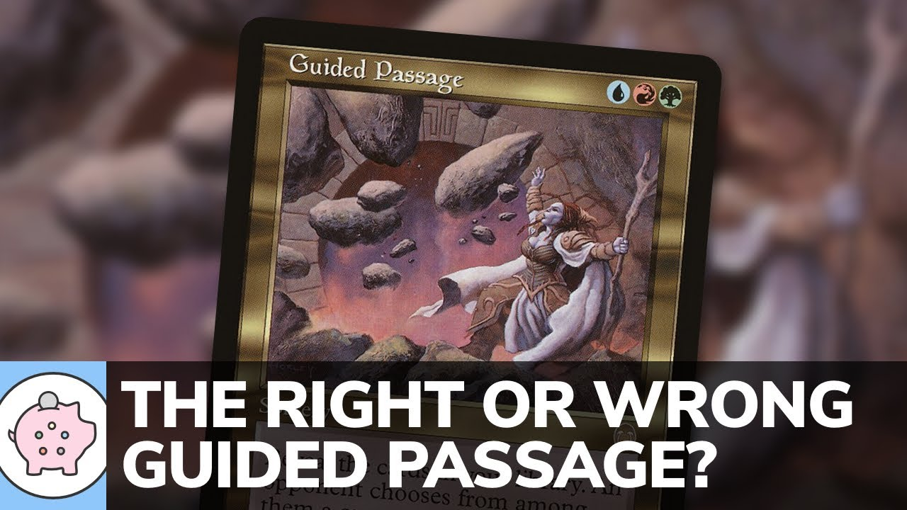 The Right or Wrong Guided Passage?   EDH   Underrated Card   Magic the Gathering   Commander