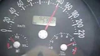 new beetle 1.6L acceleration 0-180 km/h