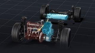 2.0Lトヨタハイブリッドシステム(THSⅡ)