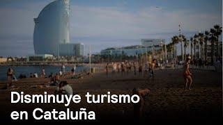 Crisis política en España afecta al turismo en Cataluña - Despierta con Loret