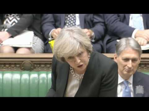 Prime Minister's Questions - 16 November - Jeremy Corbyn questions Theresa May on her chaotic Brexit