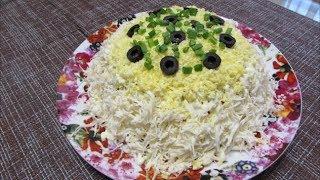 Салат с рыбными консервами ✧ Салат на Праздничный стол