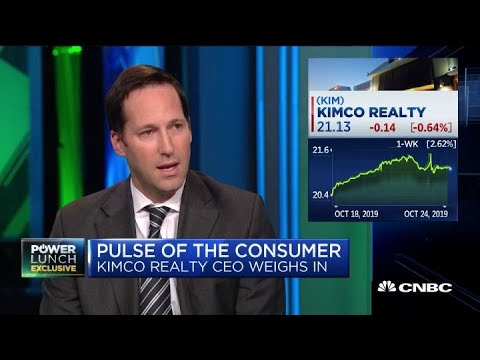 Kimco Realty CEO On What's Working In Brick-and-mortar Retail Right Now