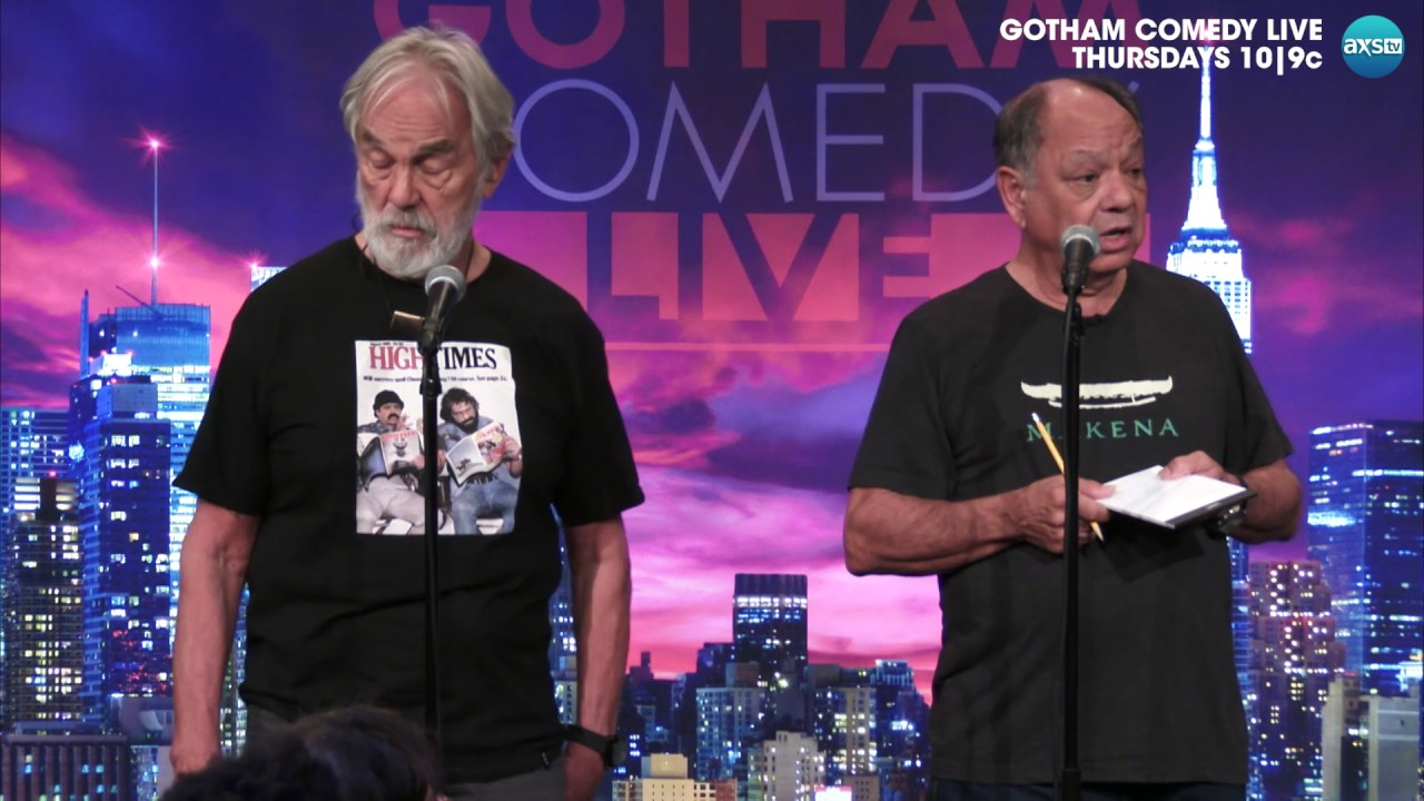 Gotham Comedy Minute: Cheech & Chong and the Healing Power of Weed