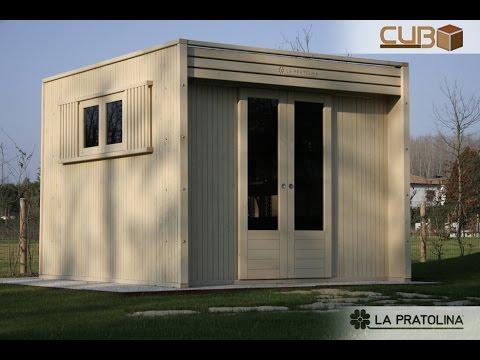 Montaggio casetta in legno da giardino cubo youtube for La pratolina casette