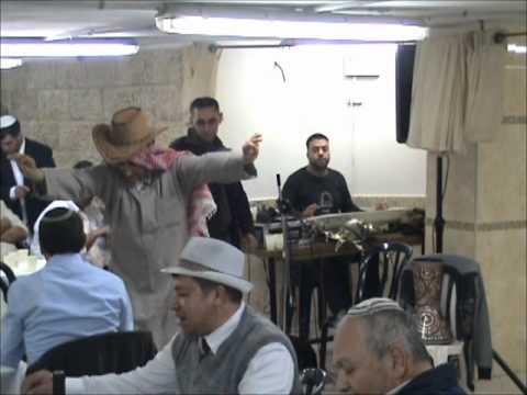 מוחמד חפלה בפורים 2012.wmv