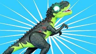 Dinosaur Walking Tyrannosaurus Rex Triceratops Stegosaurus Toy - DINOSAUR TOYS collection