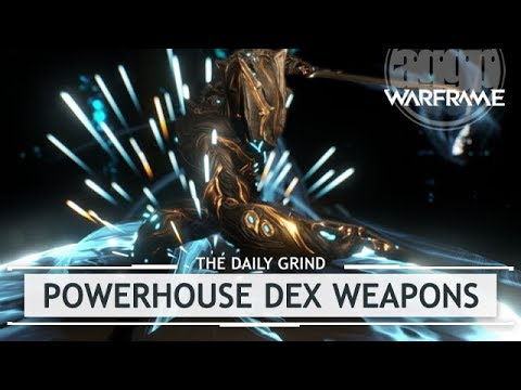 warframe how to get dex weapons