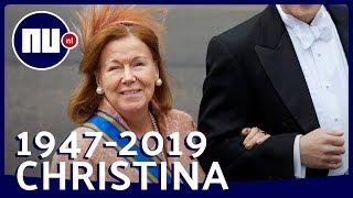 Bekijk de hoogte- en dieptepunten uit het leven van Prinses Christina