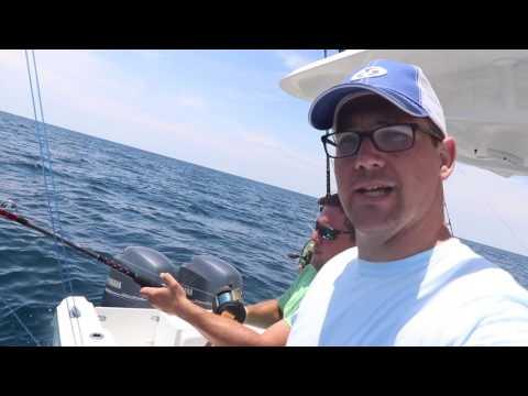 Offshore Fishing In A Big Pond