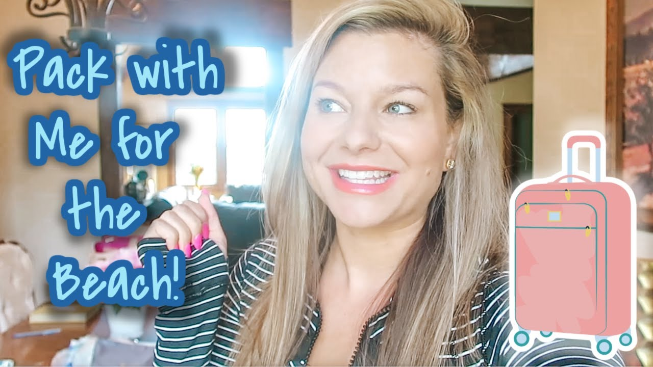PACK WITH ME FOR THE BEACH WITH 2 TODDLERS