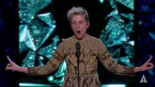 Frances McDormand wins Best Actress