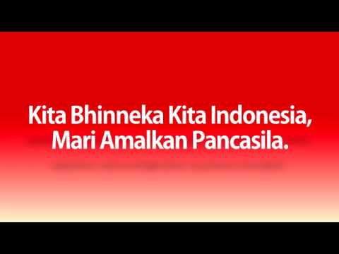 Kita Bhinneka Kita Indonesia (Lyrics Video)