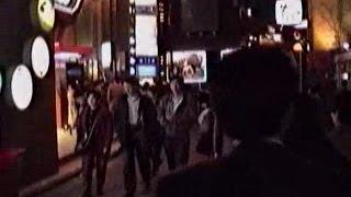 1990 六本木の夜 バブルの金曜日 銀座駅スタート Roppongi Bubble Era Friday Night 900330