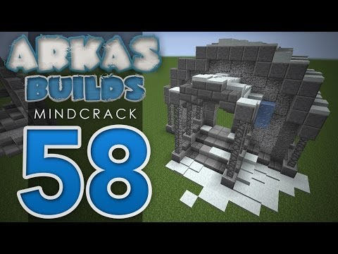 Arkas Builds Mindcrack - Episode 58 :: Skyrim-Inspired Build