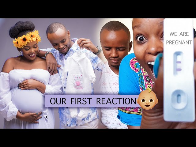 OUR REACTION WHEN WE FOUND OUT WE ARE PREGNANT | THE WAJESUS FAMILY