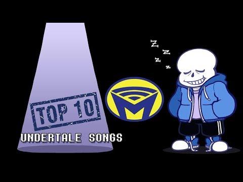 Top Ten Best Undertale Songs - Man on the Internet