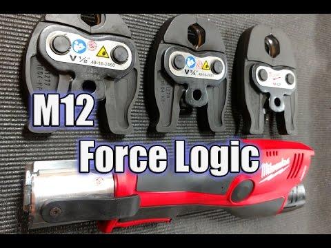 Milwaukee M12 FORCE LOGIC Press Tool Kit - Make More Money - 2473-22