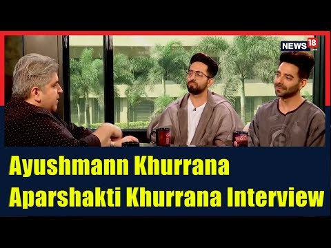 Ayushmann Khurrana & Aparshakti Khurrana Interview by Rajeev Masand Mp3