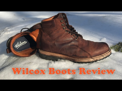 d827873b0cc Wilcox Boots Review - Shiloh Rust Brown Leather Boots - YouTube