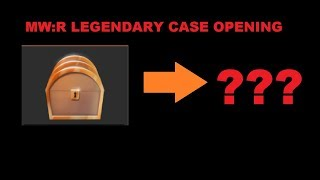 Roblox Medieval Warfare Reforged Legendary Case Opening
