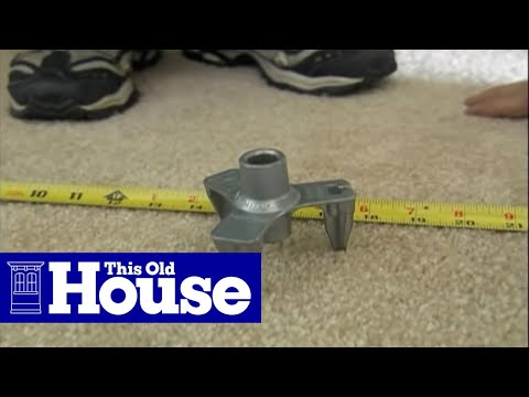 How to Repair Squeaky Floors Through Carpeting - This Old House
