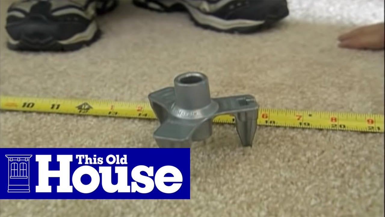 Repair Squeaky Floors Through Carpeting