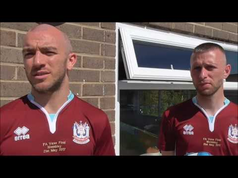 Gavin Cogdon and Barrie Smith look ahead to FA Vase final
