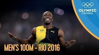 Men's 100m Final | Rio 2016 Replay