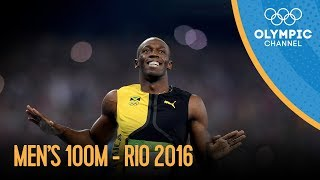 Men s 100m Final | Rio 2016 Replay