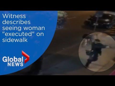 Toronto mass shooting: Witness describes gunmans rampage