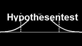 Hypothesentest - Video 1 (Einleitung)