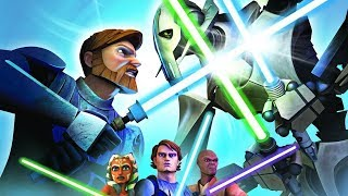 STAR WARS: THE CLONE WARS - LIGHTSABER DUELS All Cutscenes (Game Movie) 1080p HD